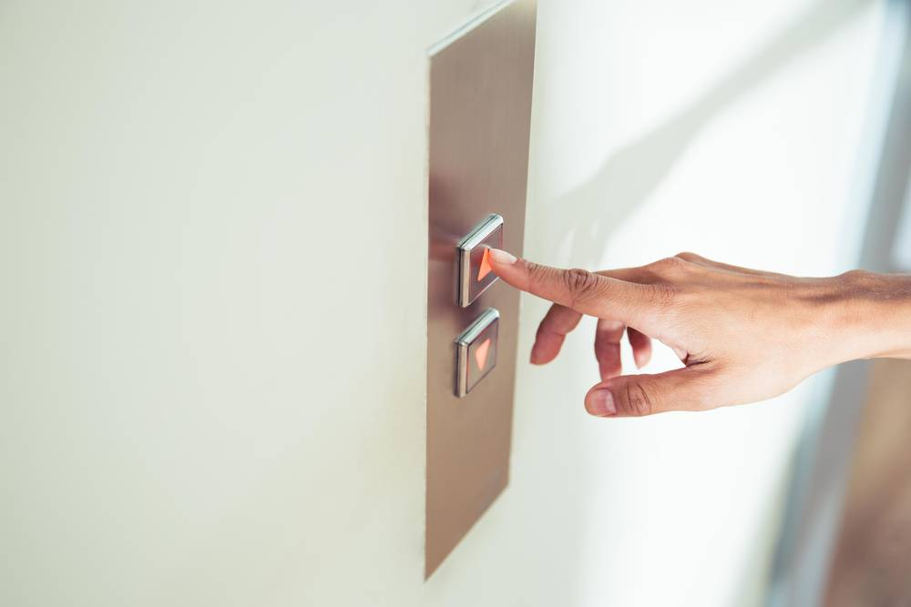 knopka lift - Зачем нужна двойная кнопка вызова вверх-вниз?