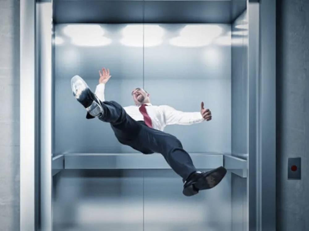 padenie lifta - Что делать если падает лифт?